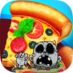 King Chef Pizza Zombies