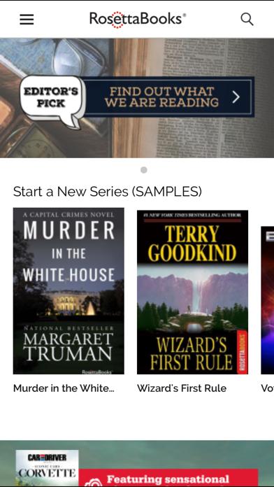 RosettaBooks Screenshot
