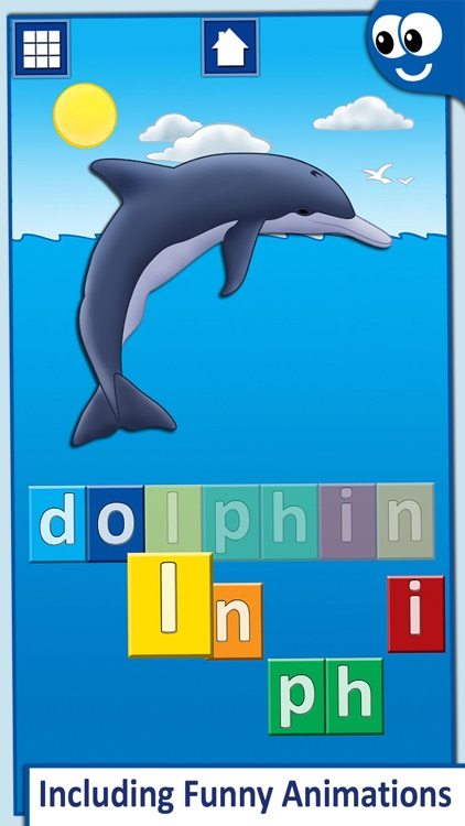 First Words for Kids with Phonics and Letter Names screenshot-3