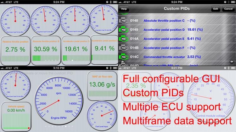 Engine Link -OBD II vehicle monitoring & diagnosis screenshot-4