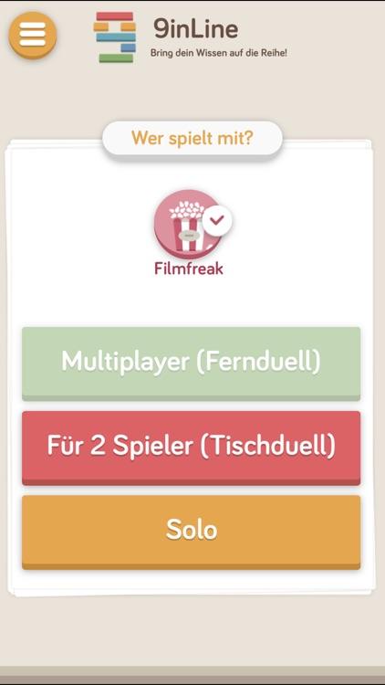 9inline Quiz Spiele: Spiel Quizduell Nine in Line screenshot-4