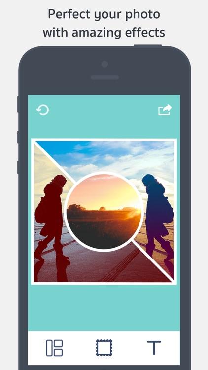 Picture Frames Creator - Grid Stitch & Pic Collage screenshot-4