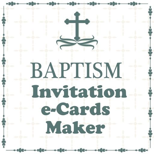 Baptism Invitation Cards Maker