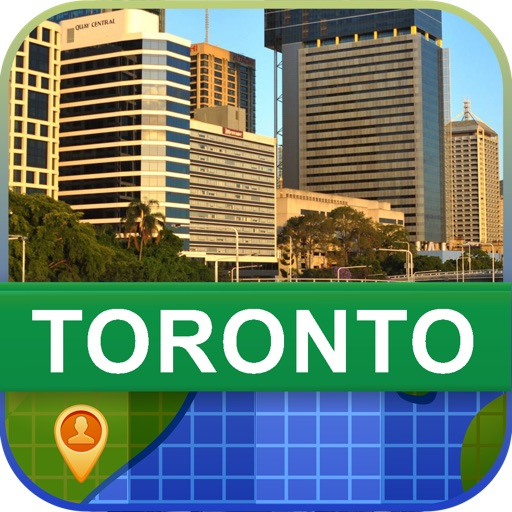 Offline Toronto, Canada Map - World Offline Maps