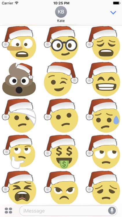 Santa Emoji screenshot-3