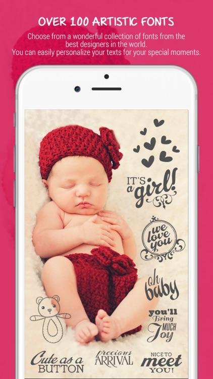 Baby Photo Editor - Baby Pregnancy Milestones Pics screenshot-3