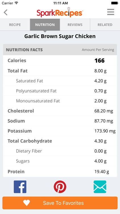 Healthy Recipes - By SparkRecipes screenshot-4