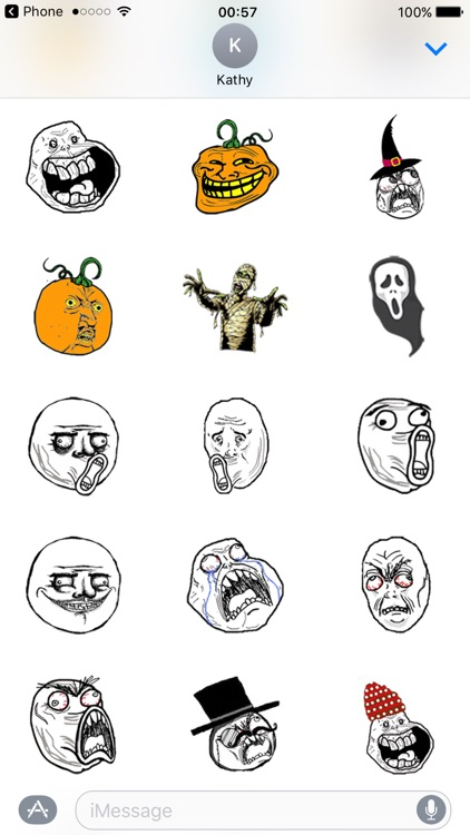 Halloween Stickers Pumpkin Monster Emojis screenshot-4