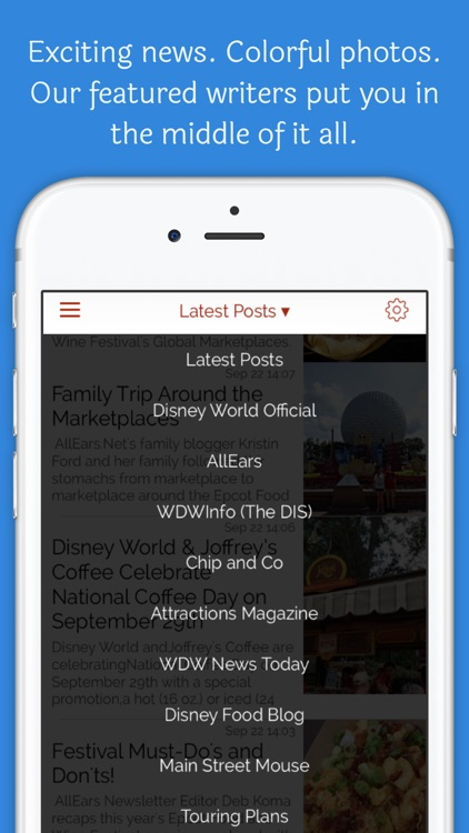Ears the News for Disney World