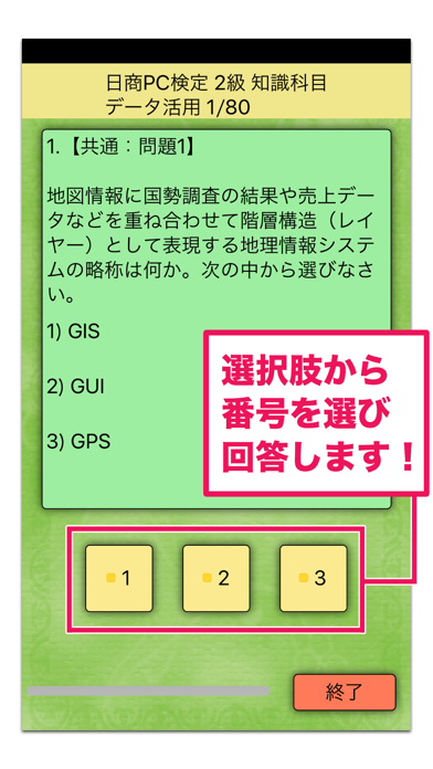 日商PC検定試験 2級 知識科目 データ活用 【富士通FOM】のおすすめ画像3