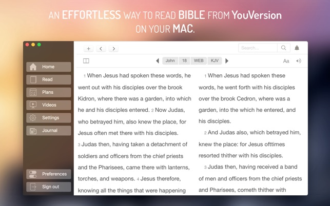 Bible for YouVersion