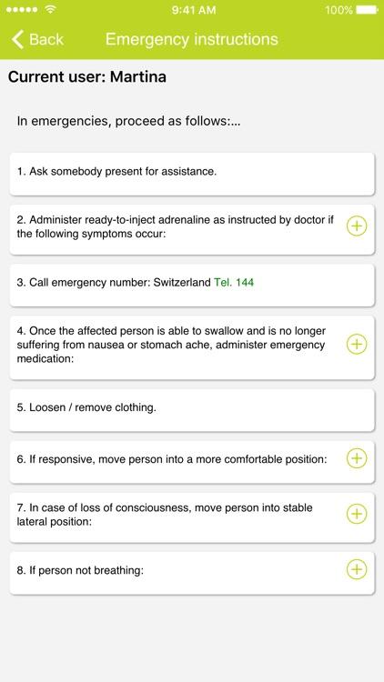 AllergyPass screenshot-4