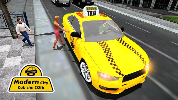 Modern City Cab Simulator 2016