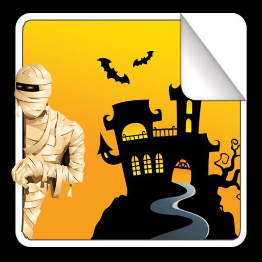 """Книжка с наклейками """"Хэллоуин"""""""