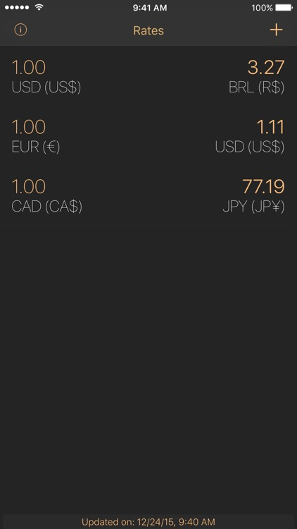 Pecunia - Currency Converter