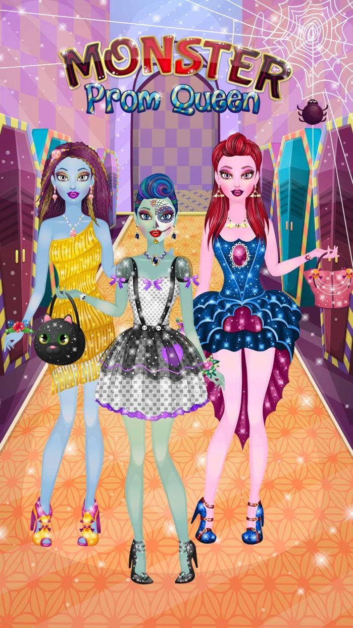 Monster Girl Prom - Kids Makeup & Dressup Makeover Screenshot