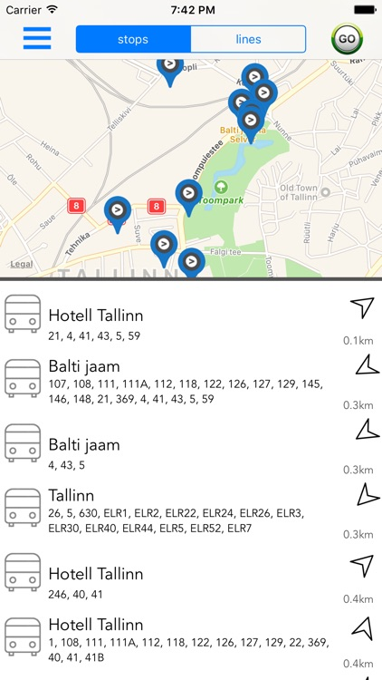 Estonia Public Transport screenshot-0