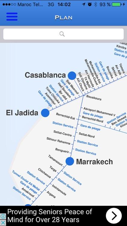 Maroc Autoroutes screenshot-3