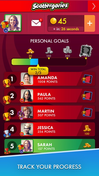 Scattergories: A fast-thinking game of categories screenshot-3