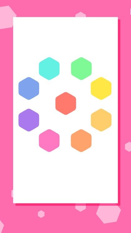 Hex Cells Classic Hexagon Matching Puzzle screenshot-4