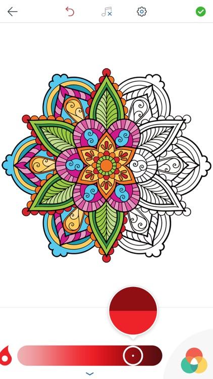 Mandala Coloring Pages Screenshot 2