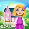 娃娃屋 装饰设计– 女生游戏: 创建和装修为孩子们可爱的公主城堡