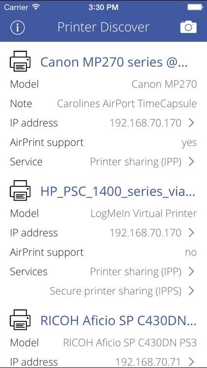Printer Discover screenshot-0