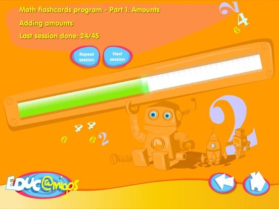 Math Flashcards - Amounts-ipad-1