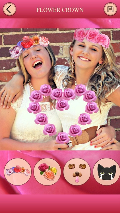 Flower Crown for Snapchat - Photo Editor, FaceSwap screenshot-4