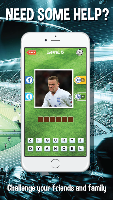 Guess who's the football players quiz app - Top footballer stars trivia game for real soccer fan screenshot four