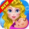 欢乐公主沙龙:女孩卡通免费游戏