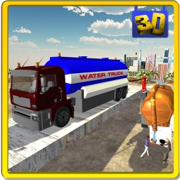 Transporter Truck Water Supply- Driving Simulator