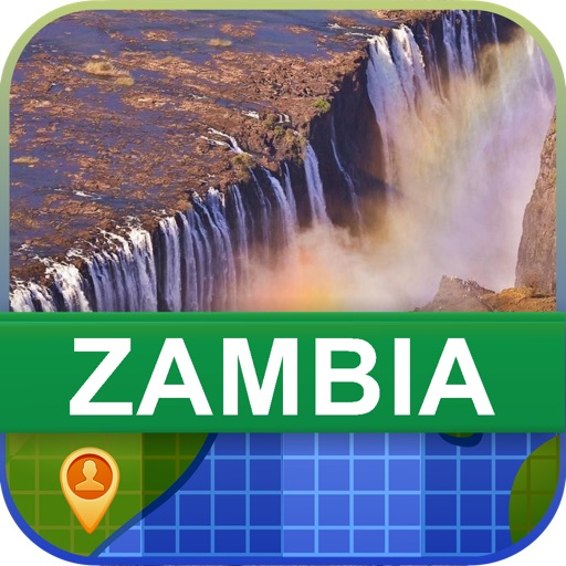 Offline Zambia Map - World Offline Maps