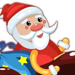 Skiing Santa Christmas Holidays Game