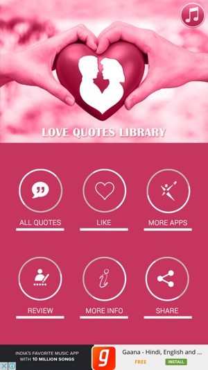 Love Quotes App New Love Quotes Library On The App Store