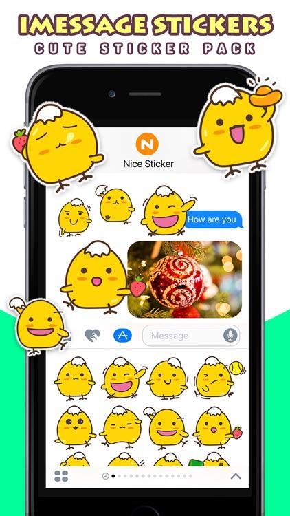 Kara Chicken - Cute Stickers by NICE Sticker