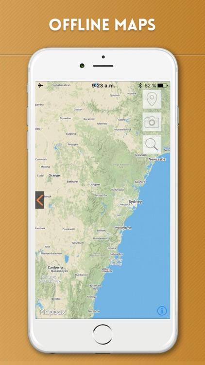 Australia Travel Guide and Offline Street Map screenshot-4