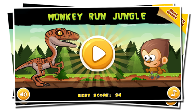 Monkey Run Jungle Adventure World - Endless runner