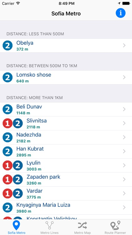 Sofia Metro screenshot-0