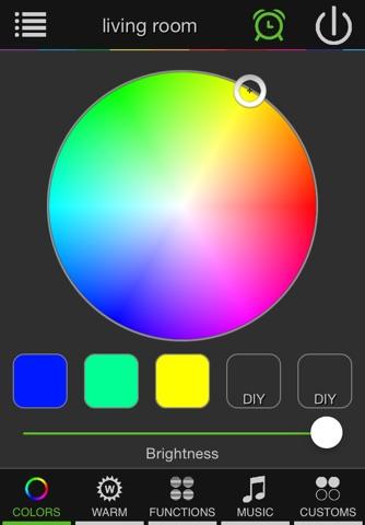 LED Magic Blue - náhled
