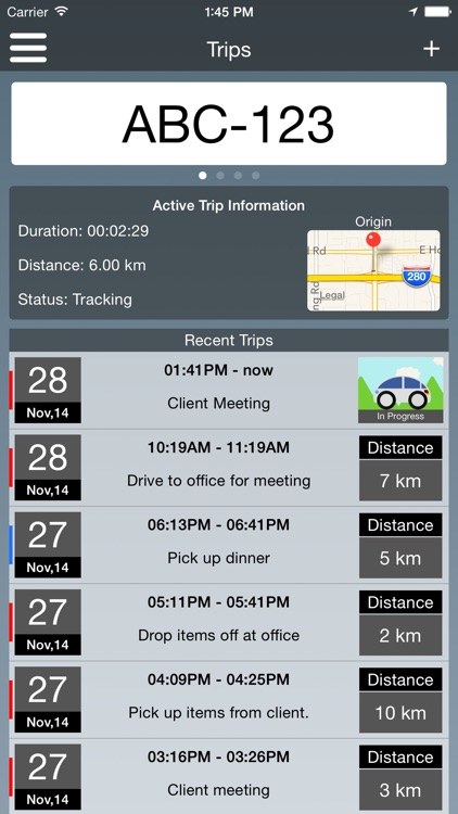 Travel Logs - Vehicle Logbook