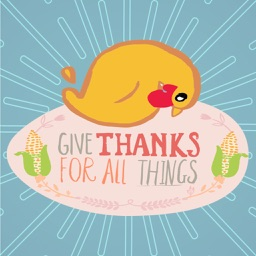 Thanksgiving Photo Grid - Fc Sticker