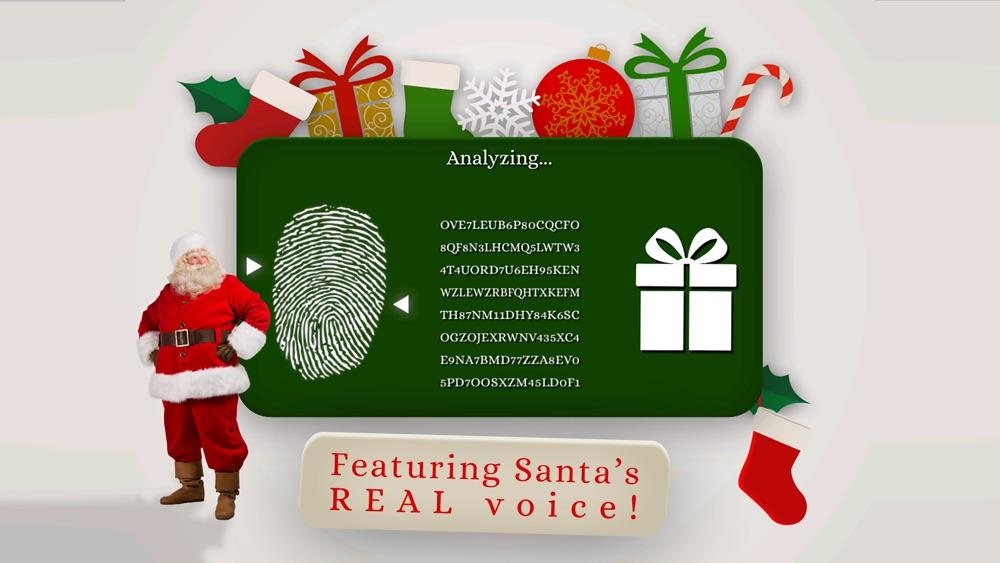 Santa's Naughty or Nice List – funny finger scan Cheat Codes