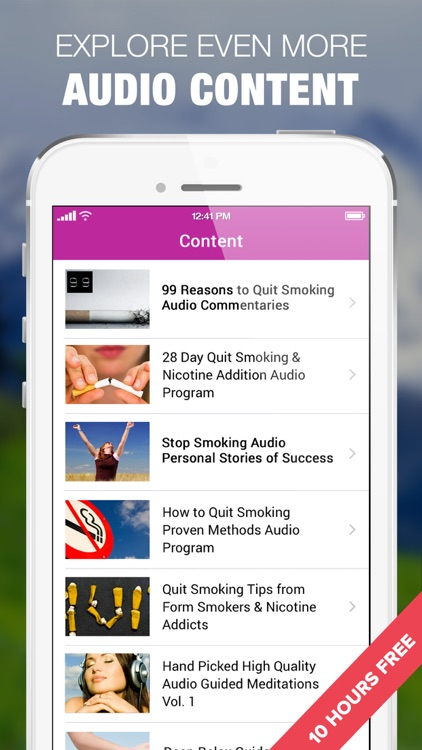Quit Smoking in 28 Days Audio Program screenshot-3