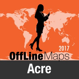 Acre Offline Map and Travel Trip Guide