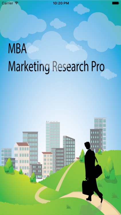 MBA Marketing Research screenshot-0