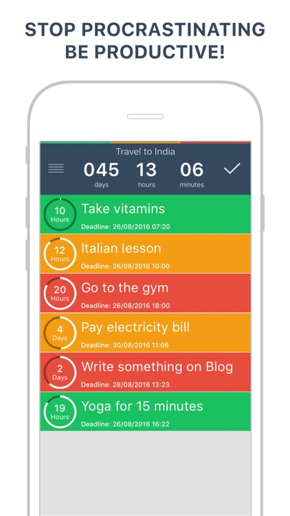 TODOO Free To Do List Planner & Reminder screenshot-0