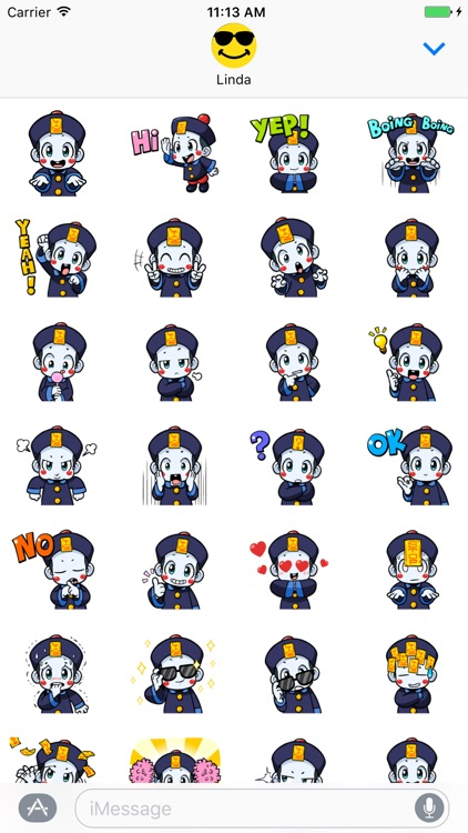 Cute Chinese Vampire! Super Stickers! by Abay Imanberlin