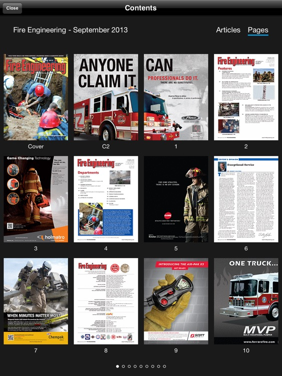 Fire Engineering Magazine iPad screenshot-3