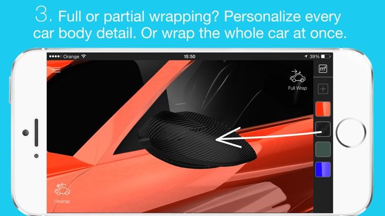 Car Wrapper: 3D car models screenshot-3